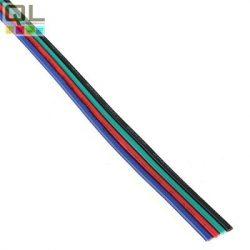vezeték RGB 4x0,22 fekete-zöld-piros-kék 20AWG