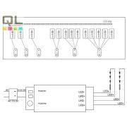 LED szalag csoport vezérlő, távirányító 7852     !!! kifutott termék, már nem rendelhető !!!