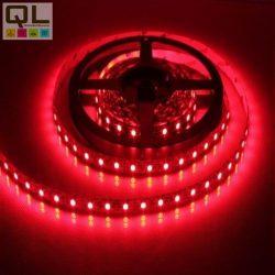 LED DESIGN FLEX fényszalag 3528 60 LED/m, 5,4W/m, 12V DC, piros - 1423R