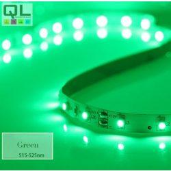 LED SZALAG ZÖLD 4,8W/m 12V 3528 Chip 60LED/m IP20 (LLSZ60LFNYVTGREEN)