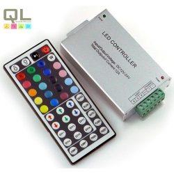LED szalag vezérlő, távirányítóval LLSZVINFRA144W44K