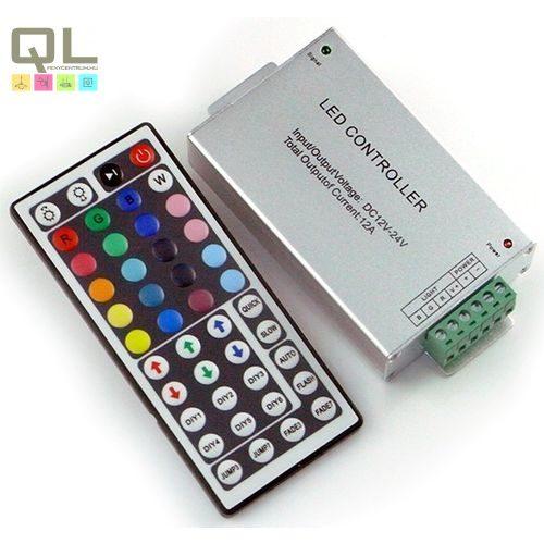 LED szalag vezérlő, távirányítóval LLSZVINFRA144W44K     !!! kifutott termék, már nem rendelhető !!!