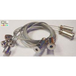 LED PANEL függesztő készlet, 6x1,5m bowdennel LLPFUG1,5M6DB