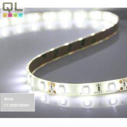 LED SZALAG H. FEHÉR 4,8W/m 12V DC 60LED/m IP65 3528CHIP (LLSZIP6560LCW)
