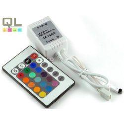 LED szalag vezérlő, infrás távirányítóval LLSZV72W24K