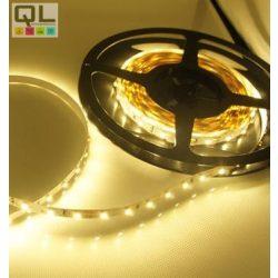LED SZALAG M. FEHÉR 2,4W/m 3528 Chip 12V DC 30LED/m IP20 (LSZ3528IP2030LWW)