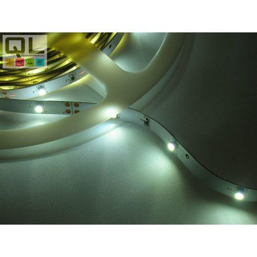 LED SZALAG H. FEHÉR 2,4W/m 12V DC 3528 Chip 30LED/m IP20 (LSZ3528IP2030LCW)     !!! UTOLSÓ DARABOK !!!