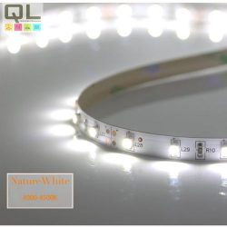 LED SZALAG T. FEHÉR 4,8W/m 12V DC 3528 Chip IP20 (LSZ3528IP2060LW40)