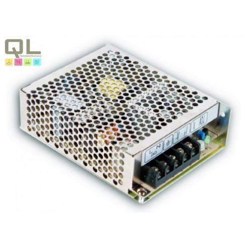 tápegység IP20 12V 75W RS-75-12     !!! kifutott termék, már nem rendelhető !!!