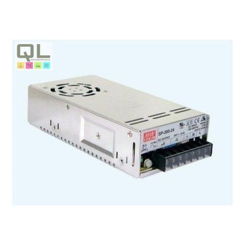 Tápegység IP40 12V 200W PFC szűrővel SP-200-12