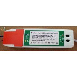 LED Panel Tápegység Dimmelhető 8-12W LLPDIMMERD9W