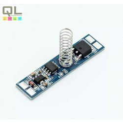 S-LIGHT kapcsoló LED Profilhoz SL-TD002 dimmer rugós rögz. 96W-12V/192W-24V LED szalaghoz  max. 8A