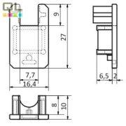 LED profil végzáró elem VMLL
