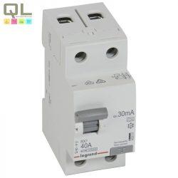 LEGRAND áram-védőkapcs 2P40A30mA A RX3 FI-relé 402037