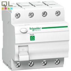 SCHNEIDER áram-védőkapcs 4P 40A 30mA AC R9 FI Relé R9R11440