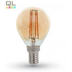LED 4W kisgömb Filament E14 2700K 4499