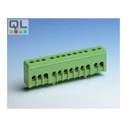 elosztókapocs 12x16mm2  zöld TS35