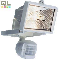 halogén fényvető+mozgás érzékelő 120W R7s fehér IP44 8116H