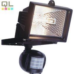 halogén fényvető+mozgás érzékelő 120W R7s fekete IP44 8117H