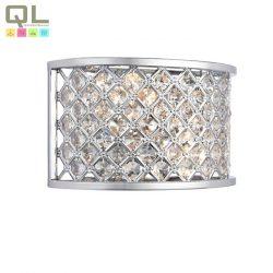 HUDSON fali lámpa 2x40W E14 króm kristály HUDSON-2LT/CR