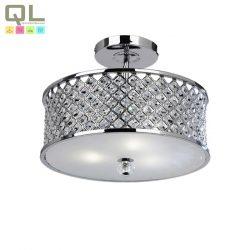 HUDSON mennyezeti lámpa 3x40W E27 króm kristály HUDSON-3LT/CR