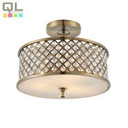 HUDSON mennyezeti lámpa 3x40W E27 bronz kristály HUDSON-3LT/BR