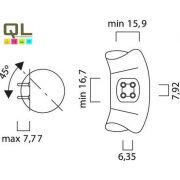 FC22/840 körfénycső 0001961