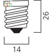 Sylvania spot lámpa 40W reflektorbúrás 0015537     !!! kifutott termék, már nem rendelhető !!!