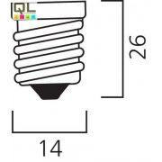 Sylvania LED Fényforrás ToLEDo CANDLE V6 470LM 827 E14 SL 0026931