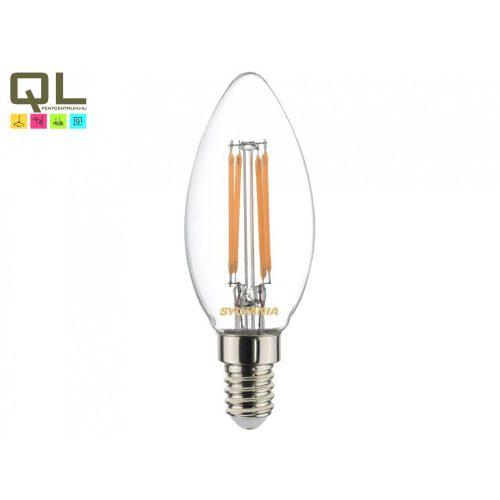 Sylvania LED Fényforrás ToLEDo RT Candle V4 CL 470LM 827 E14 SL 0027282