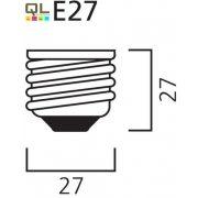 9W MLFS Spirál E27 0035221     !!! kifutott termék, már nem rendelhető !!!
