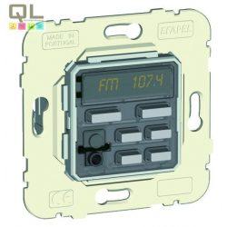 Vezérlőegység egy csatornás sztereó FM rádió, ébresztő, IR 21370