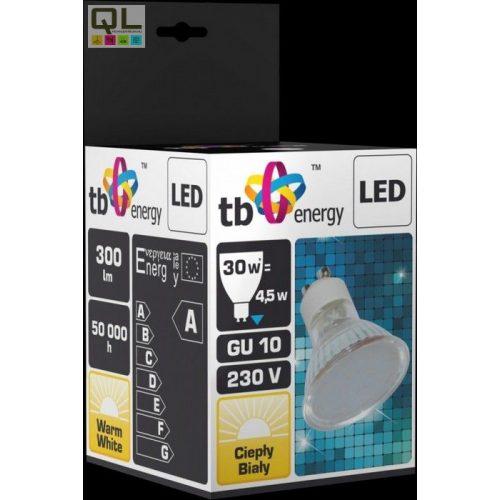 LED spot L4.5WGU10W30     !!! kifutott termék, már nem rendelhető !!!