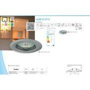 Kanlux süllyesztett lámpa ULKE CT-2113-C/M MR11 35mm 355