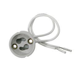 Foglalat Gu10 porcelán vezetékkel GU10K512GZ