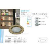 Kanlux süllyesztett lámpa GAVI CT-2116B - BR/M