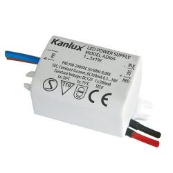 ADI IP20 350 LED működtető transzfó 1…3x1W 1440