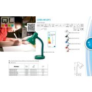 Kanlux asztali lámpa LORA HR-DF5-GN    !!! kifutott termék, már nem rendelhető !!!