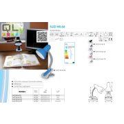 Kanlux asztali lámpa SUZI HR-60-SR csiptetős lámpa