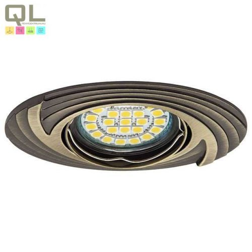 Kanlux süllyesztett lámpa FAGA CT-DTO50-AB Antik 19560     !!! kifutott termék, már nem rendelhető !!!