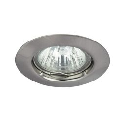 Rábalux süllyesztett lámpa 1089 - Spot relight fix GU5.3, 12V, szatin króm