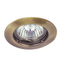 Rábalux süllyesztett lámpa 1090 - Spot relight fix GU5.3, 12V bronz