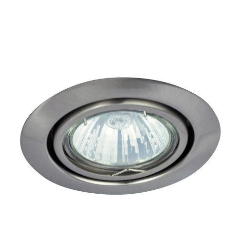 Rábalux süllyesztett lámpa 1093 - Spot relight kör bill. GU5.3, 12V, szatén króm