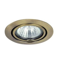1095 - Spot relight, kör bill. GU5.3, 12V,  bronz