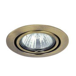 Rábalux süllyesztett lámpa 1095 - Spot relight, kör bill. GU5.3, 12V,  bronz