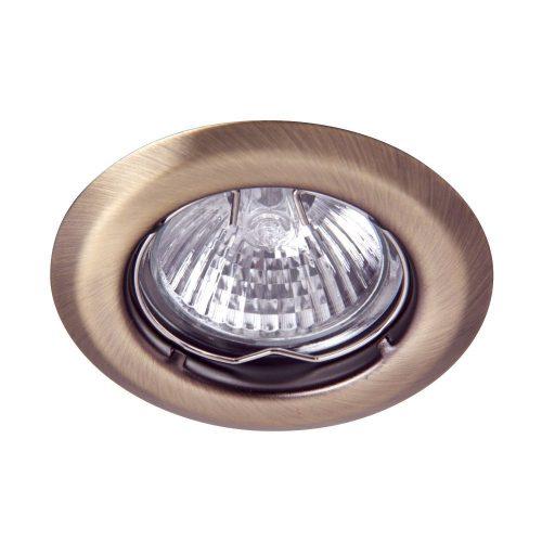1105 - Spot light, beépíthető 3-as szett, fix, kerek !!! kifutott termék, már nem rendelhető !!!