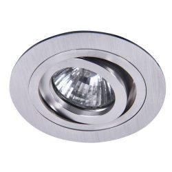 Rábalux süllyesztett lámpa 1116 - Spot fashion bill. gyűrűvel GU5.3, 12V aluminium