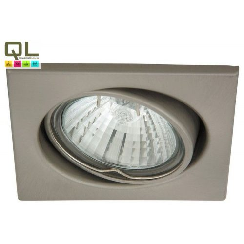 1134 - Spot light spot beépíthető 3-as szett, billenthető, négyzet !!! kifutott termék, már nem rendelhető !!!