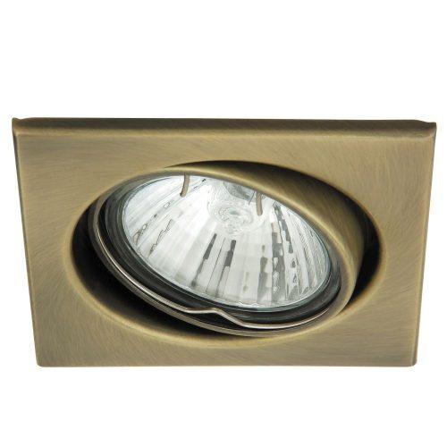 1135 - Spot light spot beépíthető 3-as szett, billenthető, négyzet !!! kifutott termék, már nem rendelhető !!!