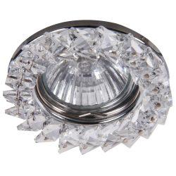 Rábalux süllyesztett lámpa 1160 - Spot fashion, fix, GU5.3, 12V, akril kristálydíszekkel